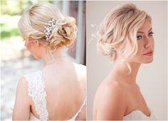 Lockige Haarverl�ngerungen verleihen Ihrem charmanten Look bei Ihrer Hochzeit mehr W�rze