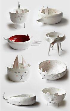 Fantastic ceramic art by Marta Turowska / Еще раз о милой простоте керамики Marta Turowska - Ярмарка Мастеров - ручная работа, handmade