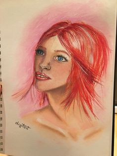 Love Drawings, Red Hair, Movie Posters, Art, Art Background, Redheads, Film Poster, Kunst, Ginger Hair