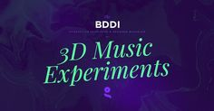 Discover music Experiments created by Interactive Designer & Developer Bachelor students from Gobelins school during a three. Weird And Wonderful, Web Design Inspiration, Cool Designs, Workshop, Students, Neon Signs, 3d, Create, School