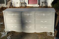 Love gray dressers!