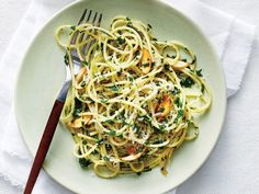 "Pretty ""Parslied"" Spaghetti 