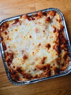 This is the cheesiest, most satisfying baked ziti I've ever dug into. Baked Ziti, Main Dishes, Baking, Recipes, Main Course Dishes, Entrees, Patisserie, Rezepte, Main Courses