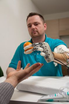 New Bionic Hand Restores Sense of Touch #technology #wearabletech