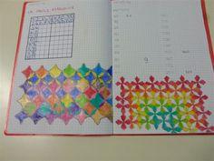 Camillo Bortolato - Metodo Analogico Reggio, Drawing For Kids, Art For Kids, Graph Paper Art, Math Notes, Decorate Notebook, My Teacher, Primary School, Pixel Art