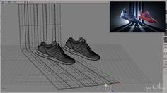 Making Of Adidas Footlocker ZX Flux ADVComputer Graphics & Digital Art Community for Artist: Job, Tutorial, Art, Concept Art, Portfolio