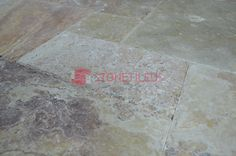 Antique Blend Brushed Chiseled French Pattern Travertine Tiles, Great for indoor or outdoor use, and can increase the value of your property. French Pattern, Travertine Tile, Tile Floor, Tiles, Indoor, Flooring, Texture, Antiques, Shop