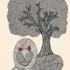 Folk Art, Animal Art, Gond Painting, Madhubani Art, Drawings, Mural Art, Painting, Indian Folk Art, Art