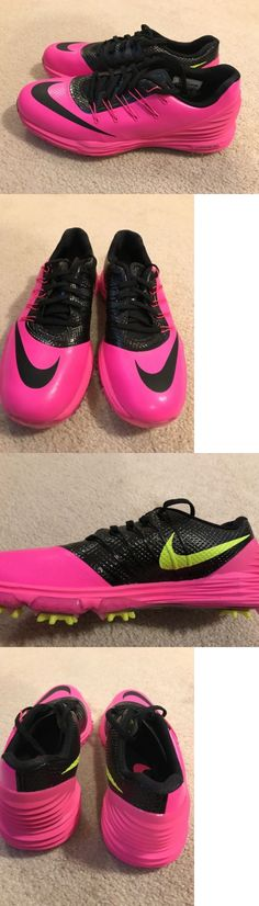 Golf Shoes 181147: Nwob Nike Lunar Control 4 Womens Golf Shoe Size 6 Pink Black -> BUY IT NOW ONLY: $43.99 on eBay!