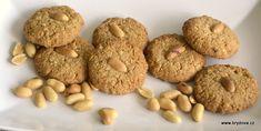 Arašídové sušenky Nutribullet, Doughnut, Hummus, Sweet Tooth, Bread, Cookies, Desserts, Recipes, Food