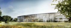 Apple's New Headquarters - Steve Jobs wants all glass around the building.