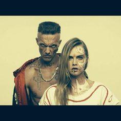 Cara & Ninja of Die Antwoord