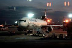 Lufthansa Cargo MD-11F on the way from Helsinki to Frankfurt - Bernd Zimmermann | Flickr - Photo Sharing!