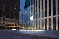 Apple Granted Patent for Fifth Avenue Glass Cube Store Design [Mac Blog] - http://www.aivanet.com/2014/08/apple-granted-patent-for-fifth-avenue-glass-cube-store-design-mac-blog/
