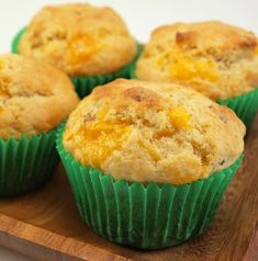 Bacon & Cheddar Muffins!  Bacon Night continues... follow my board for great ideas!