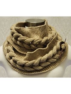 Big Cable Knit Cowl