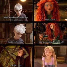 They just met and Merida already doesn't like Jack LOL
