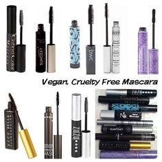 Vegan mascara is one of the hardest makeup products to find. Some of my favorite brands (Too Faced, 100% Percent Pure,  Tarte, Hourglass, an...