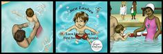 Luca Lashes Has His First Swimming Lesson is an adorable story app that helps kids work through their first time swimming. Water, especially the size of a pool or lake, can be scary for anyone who has never swam before but especially for children. My kids are both fish now but my son was afraid of the water at 2 years old…would have LOVED having this app then to help him!