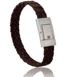 Bracelet homme cuir marron altesse - Di-Angelo