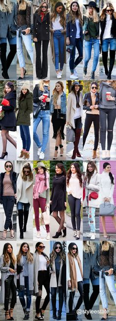 Fashion Trends Daily - 26 Great Winter Outfits On The Street 2016 Mom Outfits, Winter Outfits, Casual Outfits, Fashion Outfits, Womens Fashion, Fashion Trends, Fashion Killa, Fashion Beauty, Fashion Looks