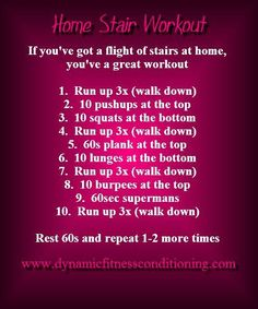Laughtard At Home Stair Workouts
