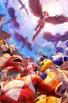 MIGHTY MORPHIN POWER RANGERS #10 by Xermanico.deviantart.com on @DeviantArt