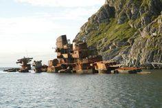 battleship murmansk wreck 20 Spectacular Military Abandonments of the World