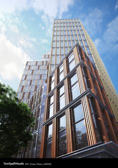 CGarchitect - Professional 3D Architectural Visualization User Community | Crown Place London - KPF - Tom Spall Visuals