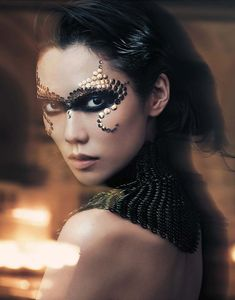 Tao Okamoto by Lachlan Bailey for Vogue China December 2012