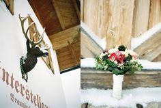 siegrid cain wedding hochzeit alpine alps snow winter winterstellgut schnee tracht dirndl salzburg austria intimate analogue filmphotography Salzburg Austria, White Fashion, On Your Wedding Day, I Am Happy, Ladder Decor, Weddings, Snow, Dirndl, Im Happy