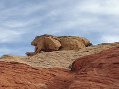 Elephant Rock at Red Rock Canyon, Nevada