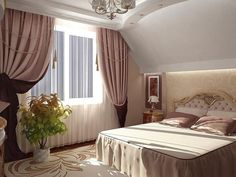 Unique Bedroom Design and Decorating Ideas Low Ceiling Bedroom, Chandelier Bedroom, Home Interior, Interior Decorating, Interior Design, Decorating Ideas, Modern Bedroom, Bedroom Decor, Design Bedroom