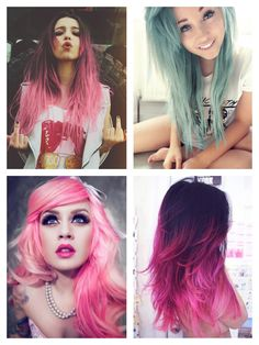 Pastels, ombre, and other awesome hair!