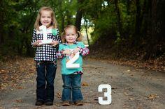 Sibling Photography // Pregnancy Reveal Photos // Big Sisters Reveal // aelivingblog.blogspot.com