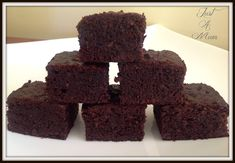 Delicious Sugar-Free, Flour-Free Chocolate Brownie - Just a Mum Dairy Free Brownies, Healthy Brownies, Healthy Cake, Healthy Baking, Healthy Slices, Healthy Desserts, Healthy Food, Gluten Free Cakes, Gluten Free Baking