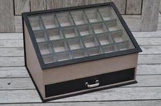 boite vitrine Fiche technique en vente sur le site de Sandra Hosseini