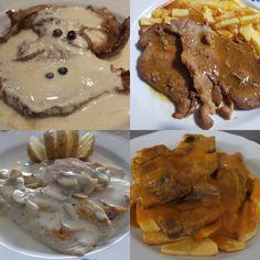 Aquí os presento cuatro ideas de salsas para carne. Cuantro salsa que están deliciosas. Si tenéis alguna celebración os servirá de ayuda.