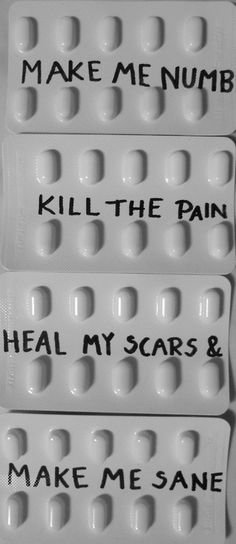 Depression Quote | Pill Suicide