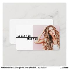 Minimalist Business Cards, Elegant Business Cards, Professional Business Cards, Photographer Business Cards, Photography Business, Photography Gifts, Social Media Influencer, Actor Model, Dancer