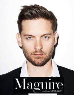 The Great Gatsby Star Tobey Maguire by Terry Richardson for German Interview
