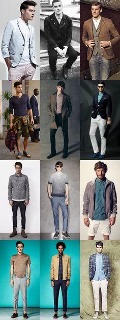 MEn's Buttoned-Up Lookbook