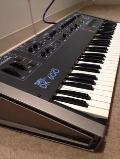 MATRIXSYNTH: Siel DK600 Vintage Analog Synthesizer