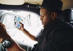 Some style stars call Ubers to take them to and from shows. Andre Iguodala called a Bentley.