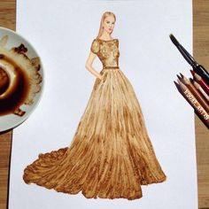 """culturenlifestyle: """" Fashion Illustrator Creates New Sensational Cut-Out Dresses Using Everyday Objects Fashion illustrator Edgar Artis (previously featured here) creates beautiful cuts outs of. Arte Fashion, 3d Fashion, Ideias Fashion, Couture Fashion, Fashion Design Drawings, Fashion Sketches, Moda 3d, Fashion Illustration Dresses, Fashion Illustrations"""