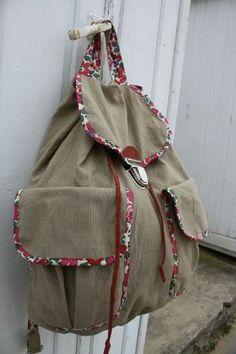"""Le sac """"spécial deux jours"""" !  Mes petits riens... > Un peu de couture.... > Le sac """"spécial deux jours"""" !"""