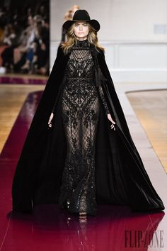 Evenings in Black Couture - A selection of 18 gowns from Haute Couture
