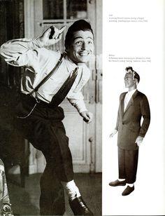 1940 De Costume, Référence De Costume, Zazou 1940S, Menswear 1940 S, 1949 Style, Les Zazous