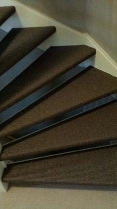 Ook op een open #trap kan je prima #tapijt toepassen!