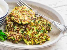 Kartoffel-Zucchini-Puffer